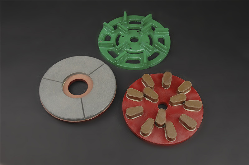 The differences between metal grinding disc and diamond fickert abrasive in granite polishing